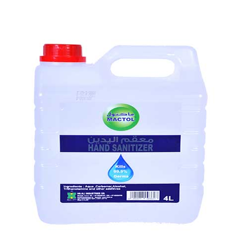 Brax Mactol Hand Sanitizer Gel